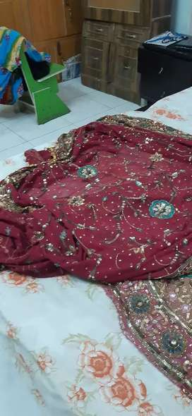 Bridal lehanga in good condition