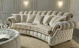 Sofa tamu classic custom