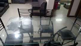 5-Rad Black Dining Chair Available in Hole Sale
