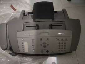 Lexmark fax printer