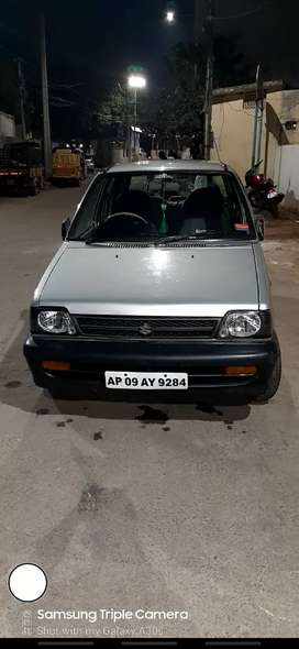 Maruti Suzuki  800 neet and good condition sel tire scratch less
