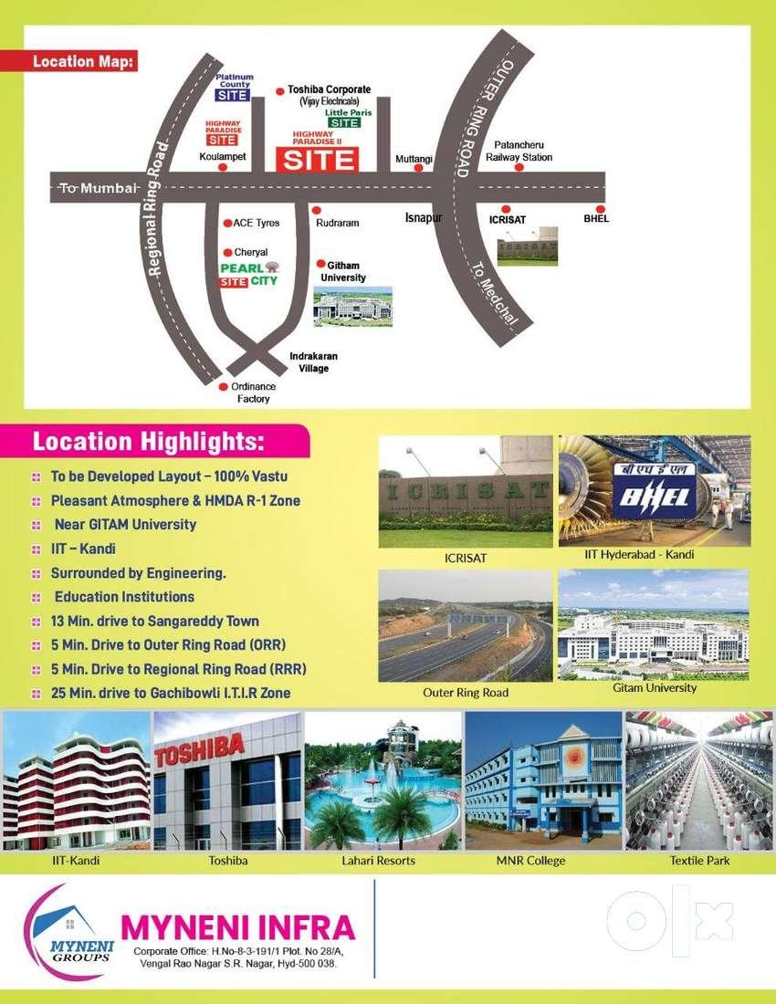 HMDA Approved layout with LP No-003770/SKP/LT/U6/HMDA/21092017 0