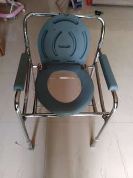 Commode Chair for Patients Price is 1400 Rupees