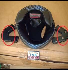 Spon helm dan part helm lainnya