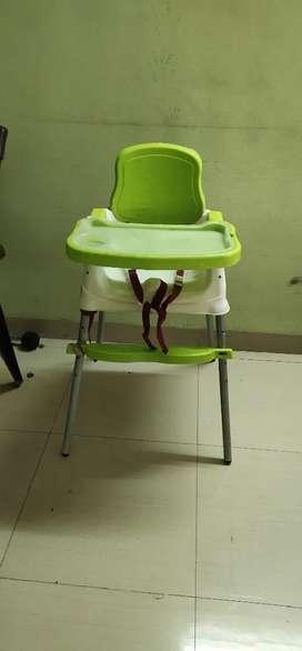 High chair for feeding