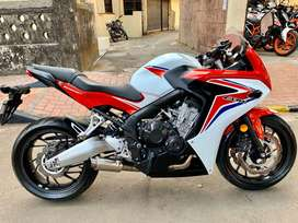 HONDA CBR 650f ABS 2016 model with exhaust