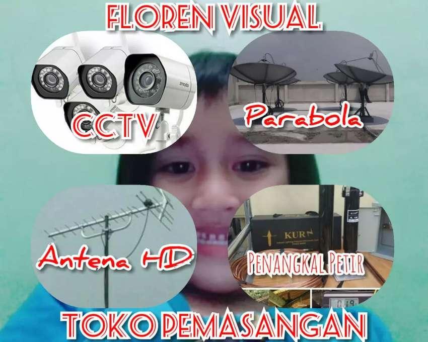Pusat pasang service parabola dan antena tv margajaya bekasi 0
