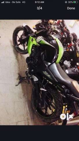 Fzs black green color solid condition