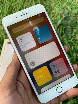 Iphone 8 Plus 64GB Fullset Mulus Original Garansi Bisa Tukar Tambah