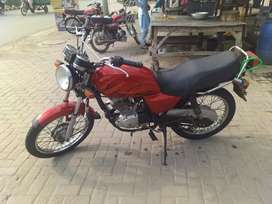 Sazuki 125 special edition made by japan, model 2008, sialkot number
