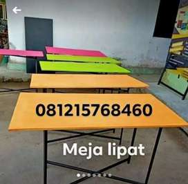 Meja lipat bazar bisa di bawa pakai motor