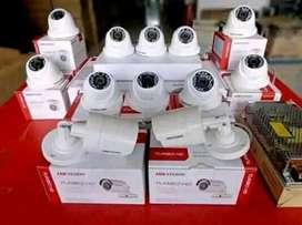 PAKET PEMASANGAN CCTV  DAHUA HIKVISION HILOOK