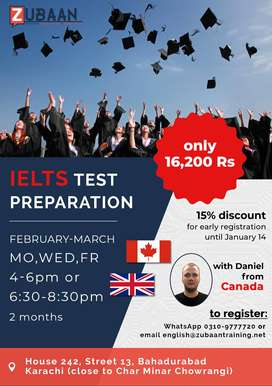 IELTS Course with foreign teacher