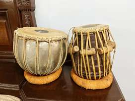 Tabla of brass in a perfect condition