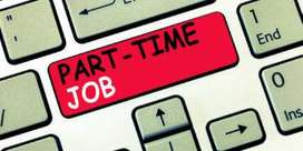 Part time job at home base /online, fresher's