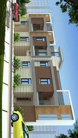 2/3bhk flats & 3/4/5bhk Villas Near by RANGOLI garden road