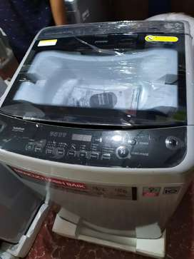 lg mesin cuci top loading inverter t2313vs2m baru