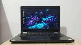 Laptop Design Grafis Model Slim Dell Lattitude E5270 Intel Core i5