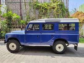 Land Rover Klasik Seri 2 Mesin Original Terawat Siap Pakai