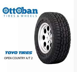 Ban import Toyo open country AT2 ukuran 31x10,50R15 bisa Jimmy Pajero
