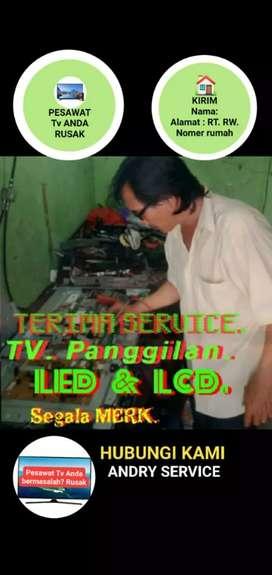 Jasa Service Servis Panggilan TV LED LCD  PLASMA TABUNG Jakarta Utara