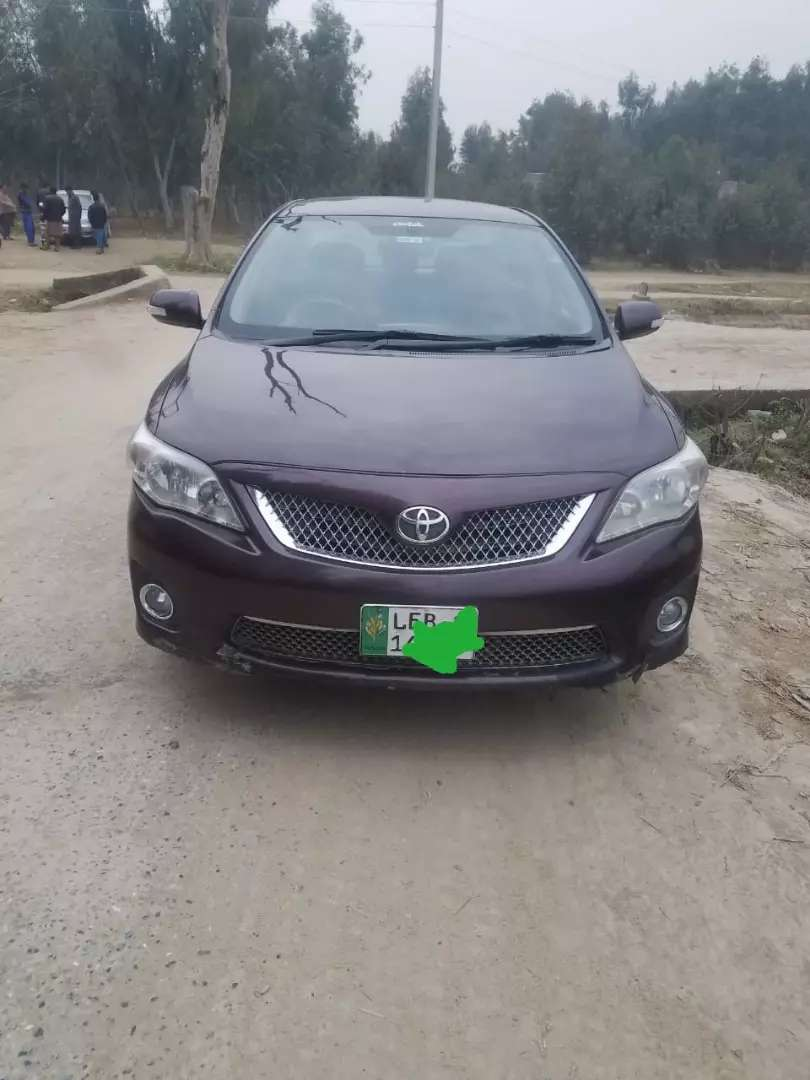 Toyota Corolla Gli VVTi 2013 is up for sale 0