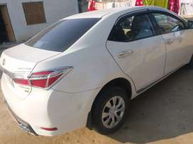 Toyota XLI 2015 System Convert GLI White colour,  Islamabad registered