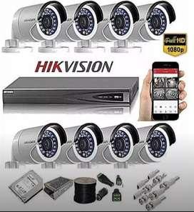 Pemasangan camera CCTV + instalasi harga terbaik