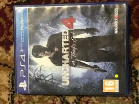 PS4 game Uncharted 4; A thief's end