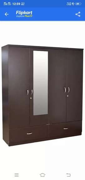 Wardrobe of 4vdoors