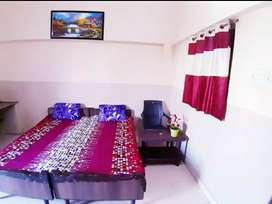 One furnished room near Pachpedi Naka