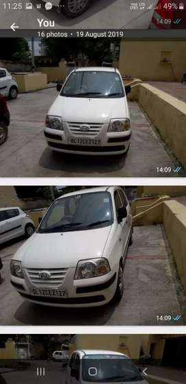 Hyundai Centro white color