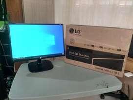 BU URGENT! MONITOR LG DESAINER MANTUL LED IPS 20 inch ( 19.5 )