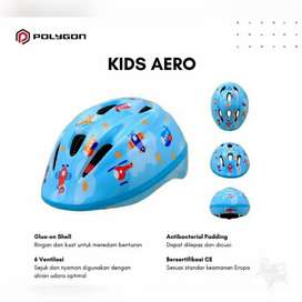 Helm Sepeda Anak Merk Polygon Tipe Aero