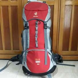 Tas Gunung Carrier Deuter Gobi 55+10 SL Original Mulus not Osprey Lowa