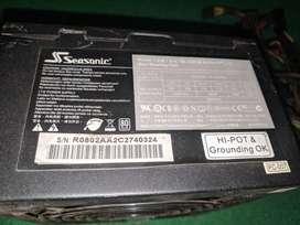 Power Supply pure Psu Seasonic 430w handal bandel 80 plus