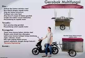 GEROBAK STAINLESS MULTIFUNGSI
