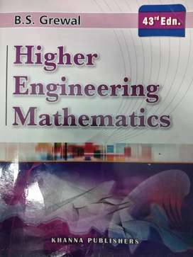 Higher Engineering Mathematics book by B.S Grewal