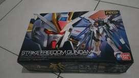 Jual RG Strike Freedom Gundam Bandai Mib
