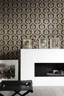 Wallpaper 3D design for wall covering. Affordable price range ava.