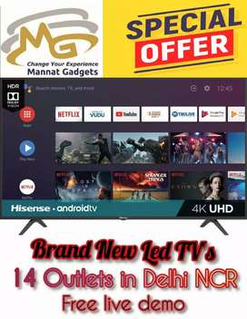 40 inch Smart LED TV + latest operating system (102 cm screen size)