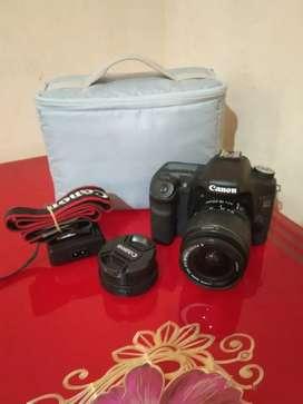 Kamera Canon eos 50D 18-55mm +lensa tamron 18-200mm