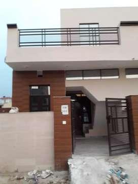 Independent 61 sqyard single House in Zirakpur