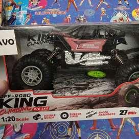 Mainan anak remote control king climbing baru