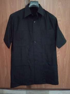 Safri Suit & Waste Coat (Black)