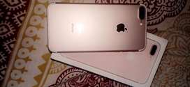 IPHONE 7 plus rose gold 128 GB SAME AS NEW