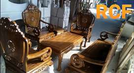 Kursi sofa tamu kayu jati 021