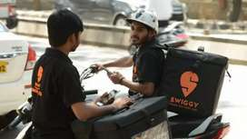Swiggy delivery job part time/ full time