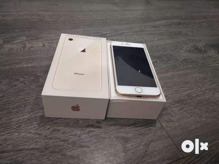 Apple iPhone 8 64GB Gold with bill box and accessories 0