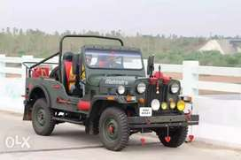 Open jeep (mahendra)